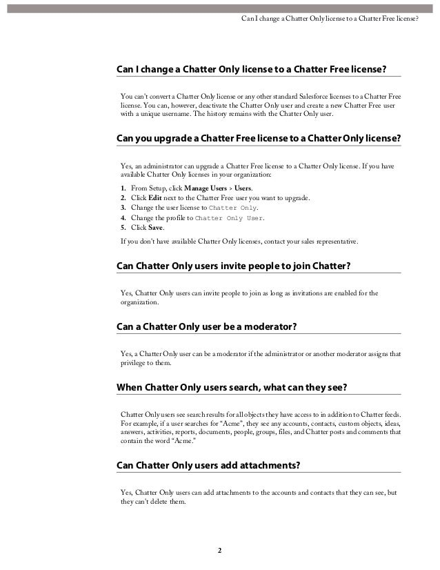 chatter free license