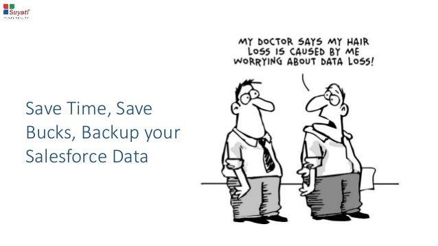 Save Time, Save Bucks, Backup your Salesforce Data