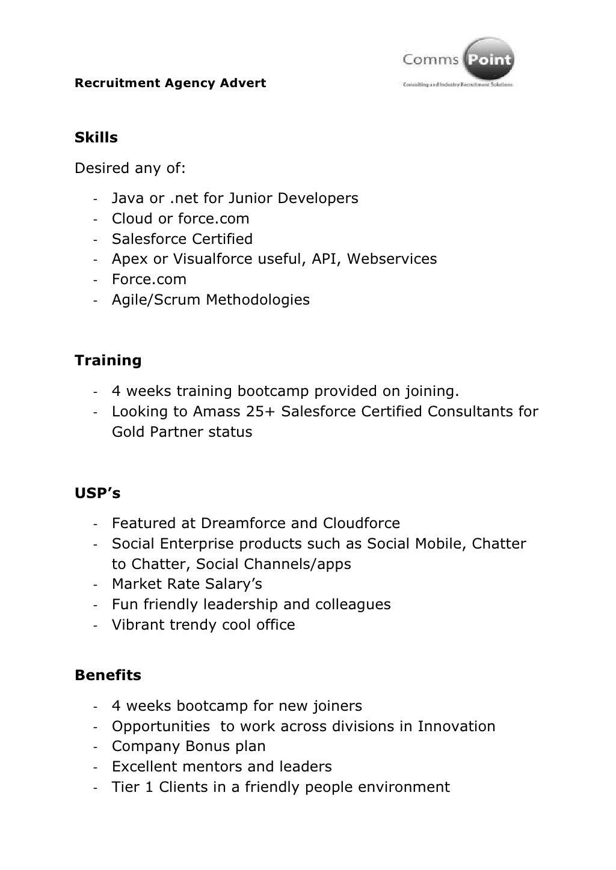 Salesforce Developer Jobs - London
