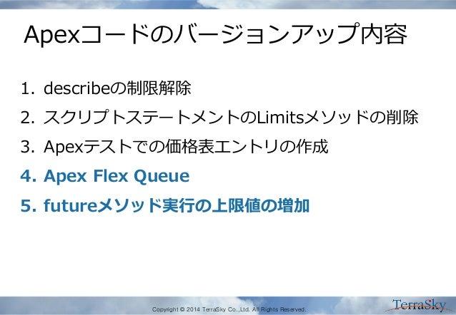 Salesforce dug meetup6_summer14apex Slide 3