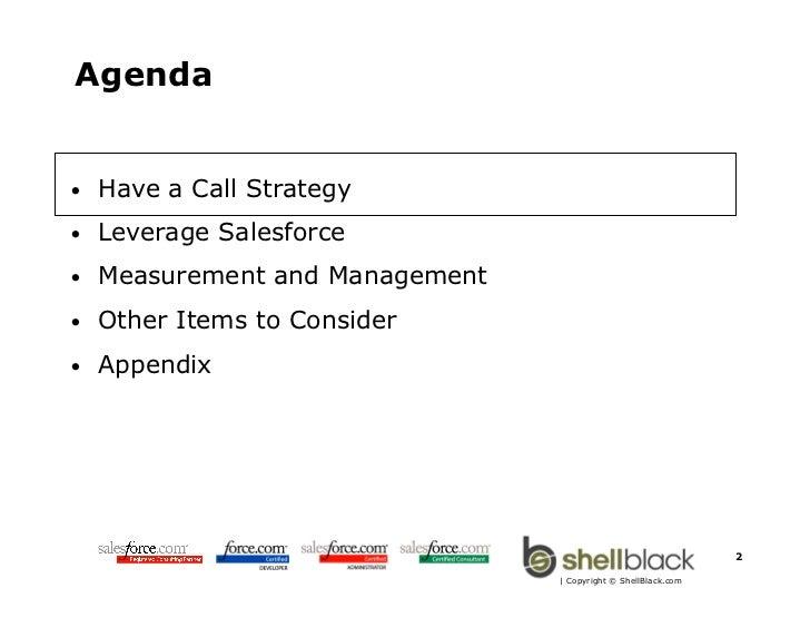 Best Practices for Managing Inside Sales with Salesforce.com Slide 2