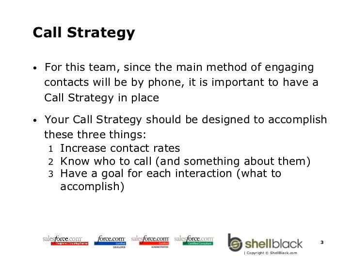 Best Practices for Managing Inside Sales with Salesforce.com Slide 3