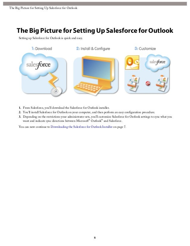 download salesforce for outlook 2010