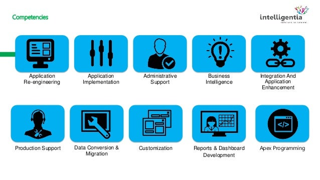 salesforce intelligentia solutions and support services