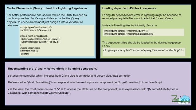 Salesforce Lightning Tips & Tricks