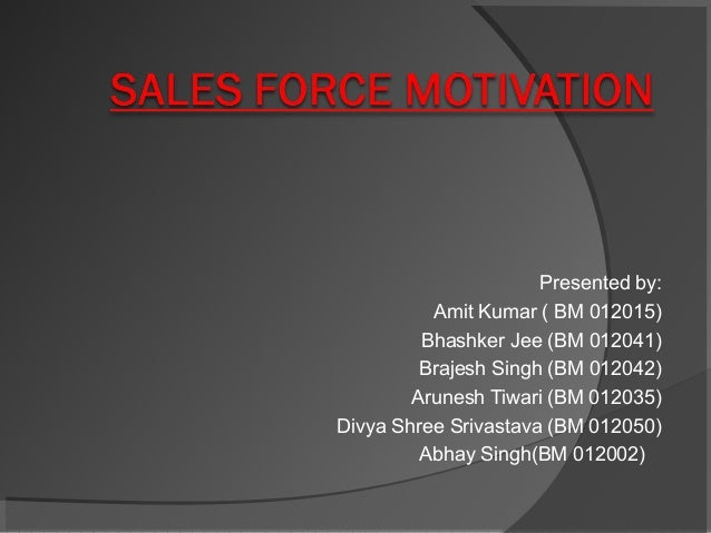 S2E9 - 'Motivating The Sales Force'
