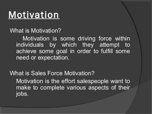 the role of need motivations and Motivation: a literature review   students need to believe they are competent in academic domains to feel they have self-worth in the school context.