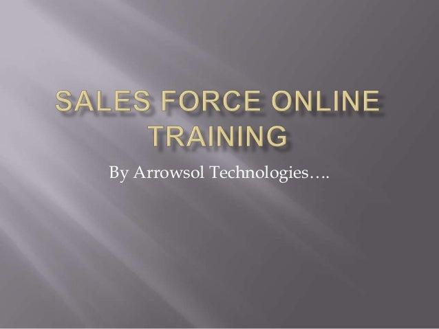 By Arrowsol Technologies….