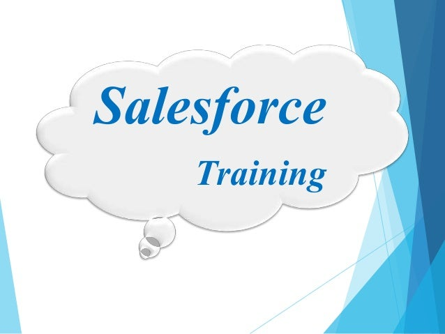 Why join salesforce training?