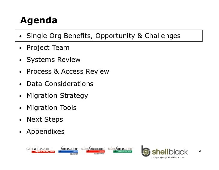 Salesforce com Org Migration Overview