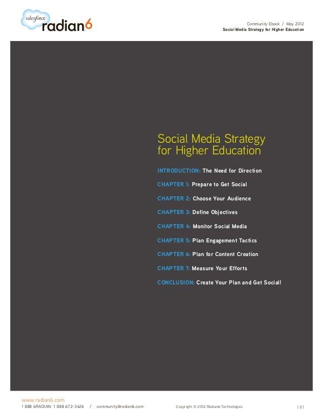 Social Media Strategy for Higher Education Slide 2