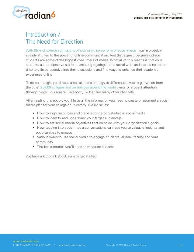 Social Media Strategy for Higher Education Slide 3
