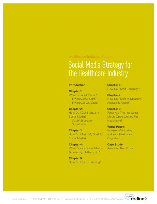 Strategies in the healthcare sector in