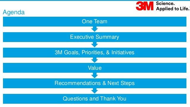 Salesforce Proposal to 3M Slide 3
