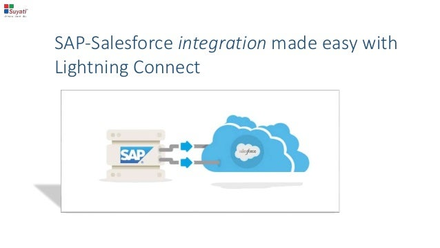 SAP-Salesforce integration made easy with Lightning Connect