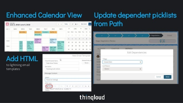 Salesforce Summer 18 Release Notes Highlights By Thinqloud