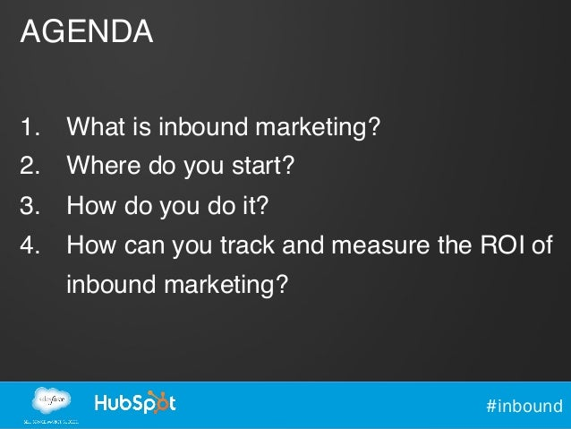 Secrets of Successful Inbound Marketing  Slide 3