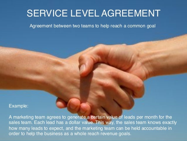Inbound Service Level Agreement Example
