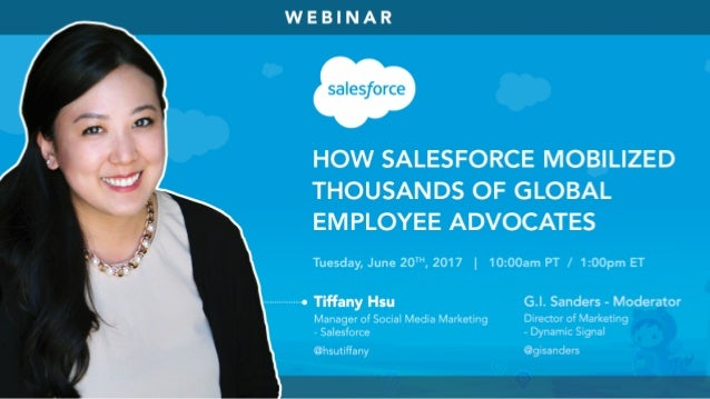 #DySiWebinar @gisanders@hsutiffany Why Company Communications and Employee Advocacy Matter Now More Than Ever
