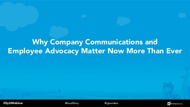 How Salesforce Mobilized Thousands of Global Employee Advocates Slide 2