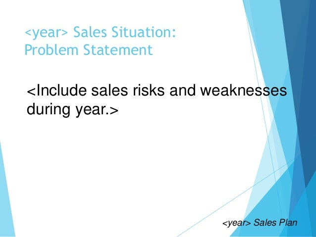 problem with sales forecast If you're the type of sales manager who doesn't rely on a sales forecast, you're  probably in a lot of trouble right now what can you say.