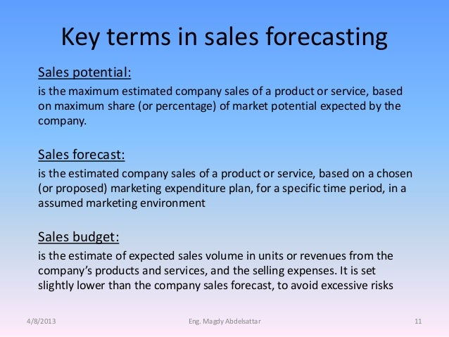 Sales Forecasting & Planing Training