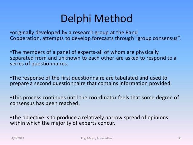advantages of the delphi technique 252 feedback 27 253 consensus 28 26 participants view s of the  delphi technique 28 261 advantages of adopting a delphi technique.