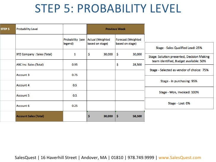 Sales Forecasting Template