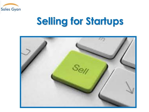 Selling for Startups