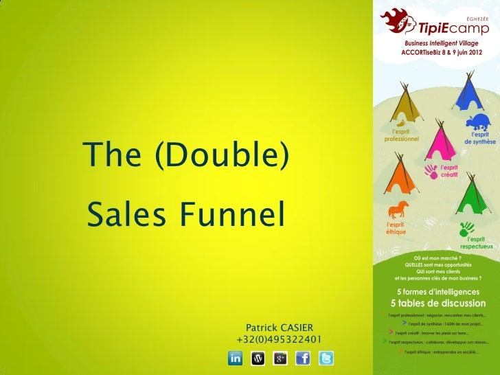 The (Double)Sales Funnel         Patrick CASIER        +32(0)495322401