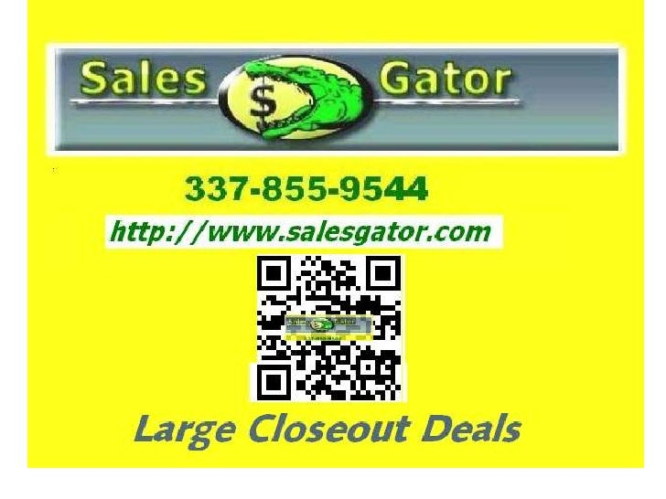 SalesGator.com specializes in selling many new, popular and unique products /merchandise that have a high demand for the c...