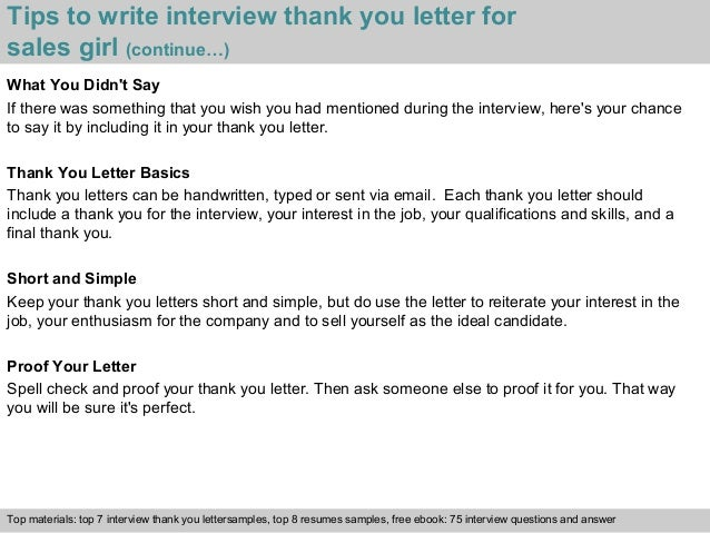 Thank You Letter Sales Interview Kasare Annafora Co