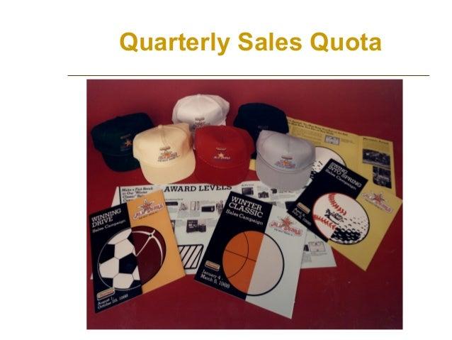 Quarterly Sales Quota