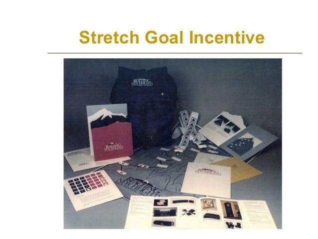 Stretch Goal Incentive