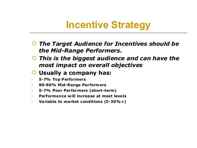 Sales Incentive Program Examples