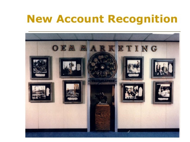 New Account Recognition