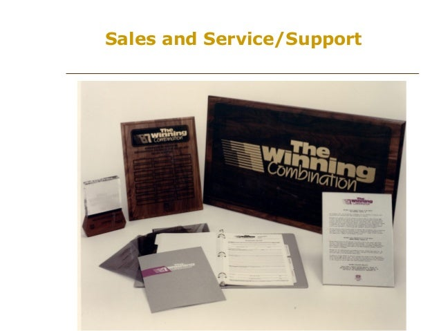 Sales and Service/Support