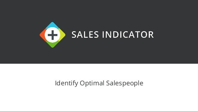 Identify Optimal Salespeople