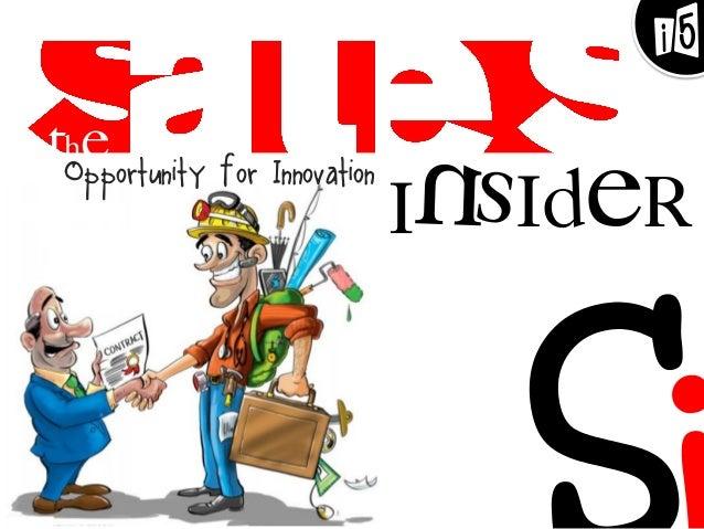 Opportunity for Innovation Insider The i5