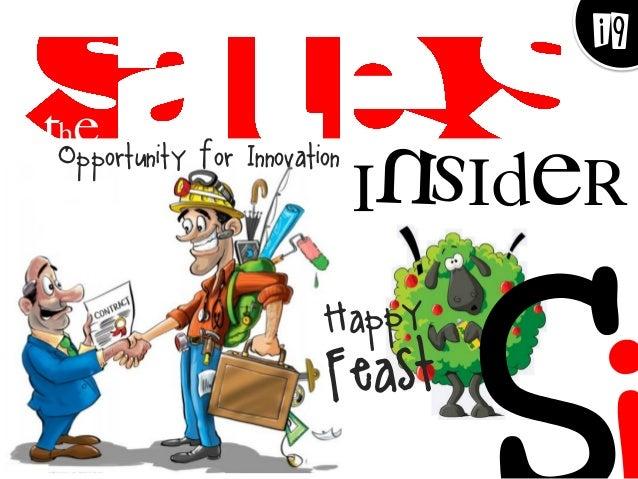 Opportunity for Innovation  Insider  The  i9