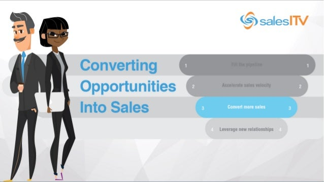 © SalesITV - All Rights Reserved. Converting Opportunities into Sales | Understanding the Common Barriers Agenda • 10 com...