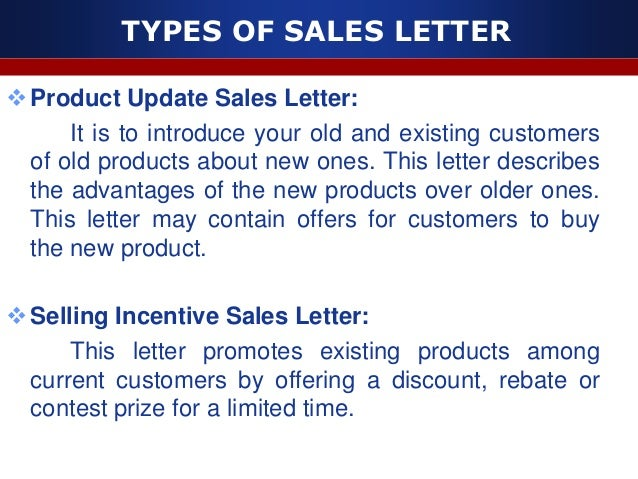 Sales letter 8 types of sales letter thank you expocarfo Images