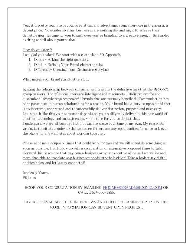 introductory sales letter