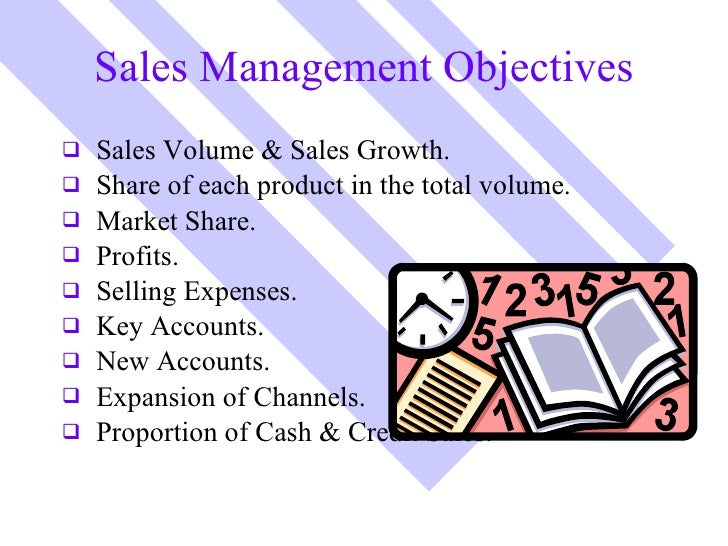 objective for sales