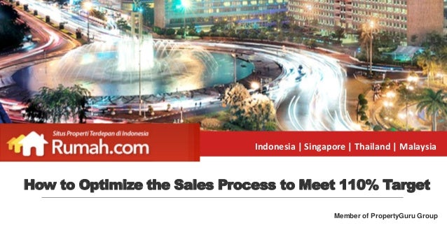 Indonesia | Singapore | Thailand | Malaysia Member of PropertyGuru Group How to Optimize the Sales Process to Meet 110% Ta...
