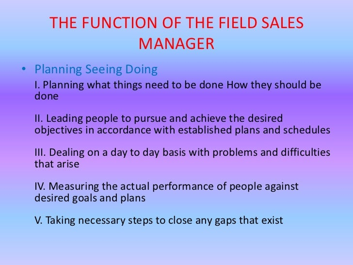 What Is the Role of a Sales Manager?