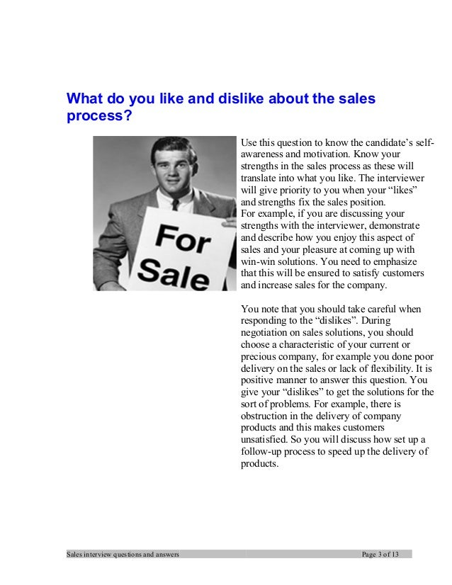 Sales manager interview questions and answers Slide 3