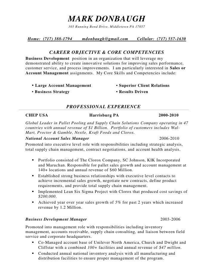 list of core competencies for resumes