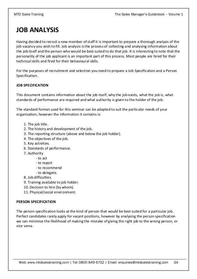 sales manager u2019s guidebook volume 1