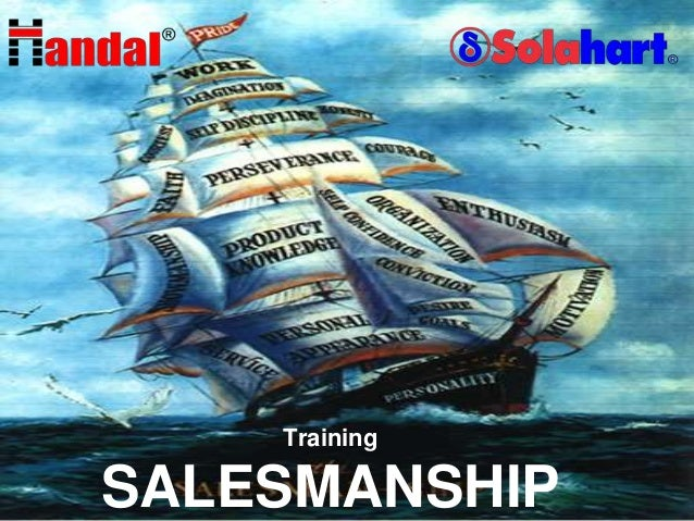 Training  L/O/G/O  SALESMANSHIP